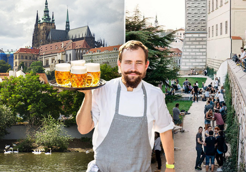 Kuchyň na Hradčanském náměstí dostává další šanci. Chystá se otevřít pivní terasu.
