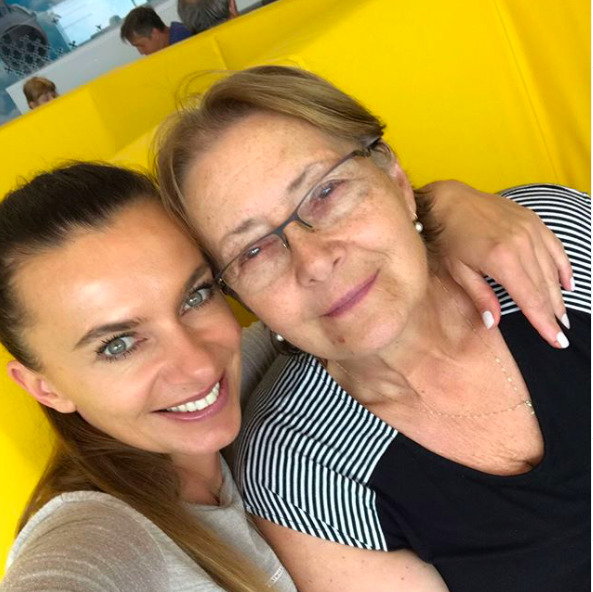 Alice Bendová s maminkou