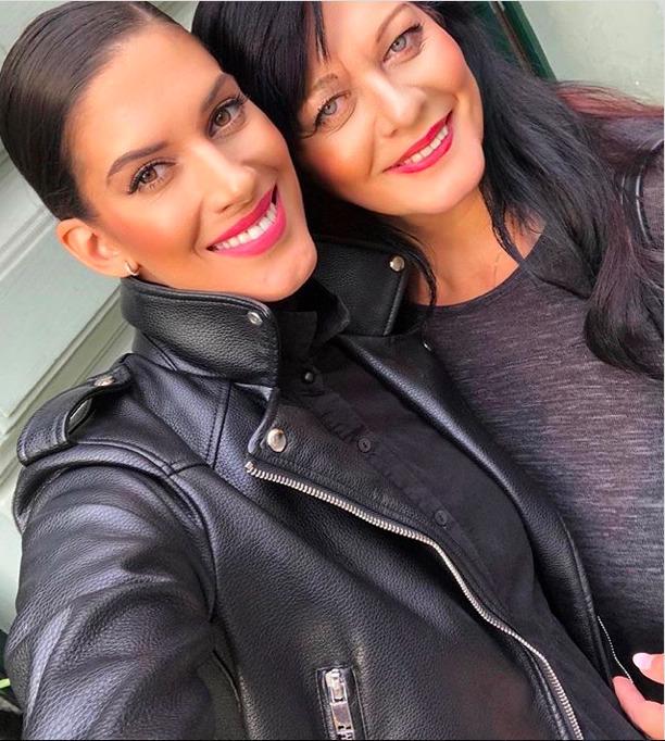Aneta Vignerová s maminkou