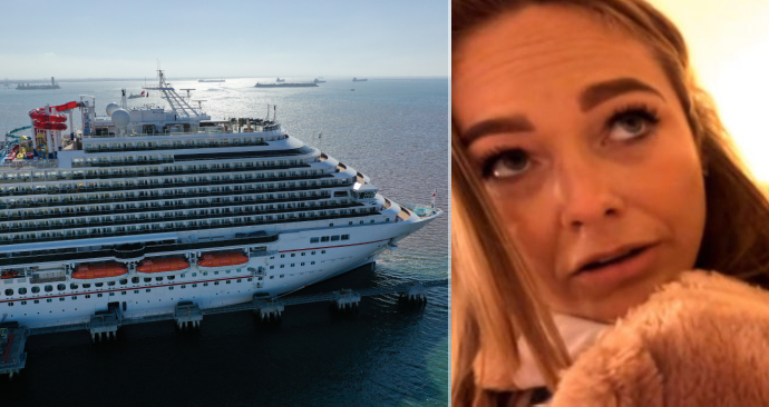 Češka Sarah je už 60 dní uvěznění na výletní lodi.