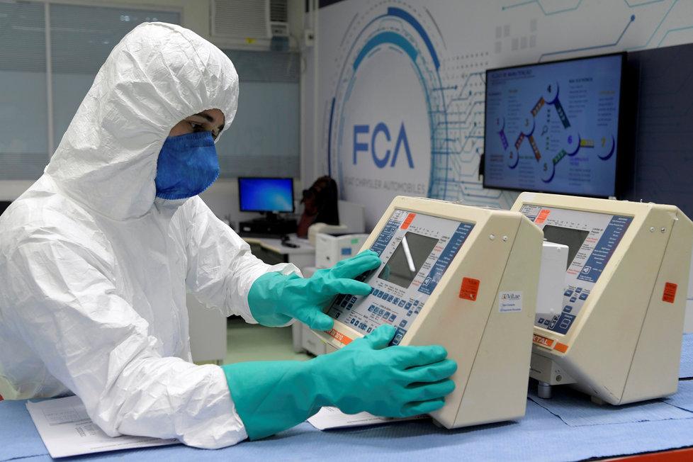 Výzkum koronaviru: Laboratoř v Brazílii