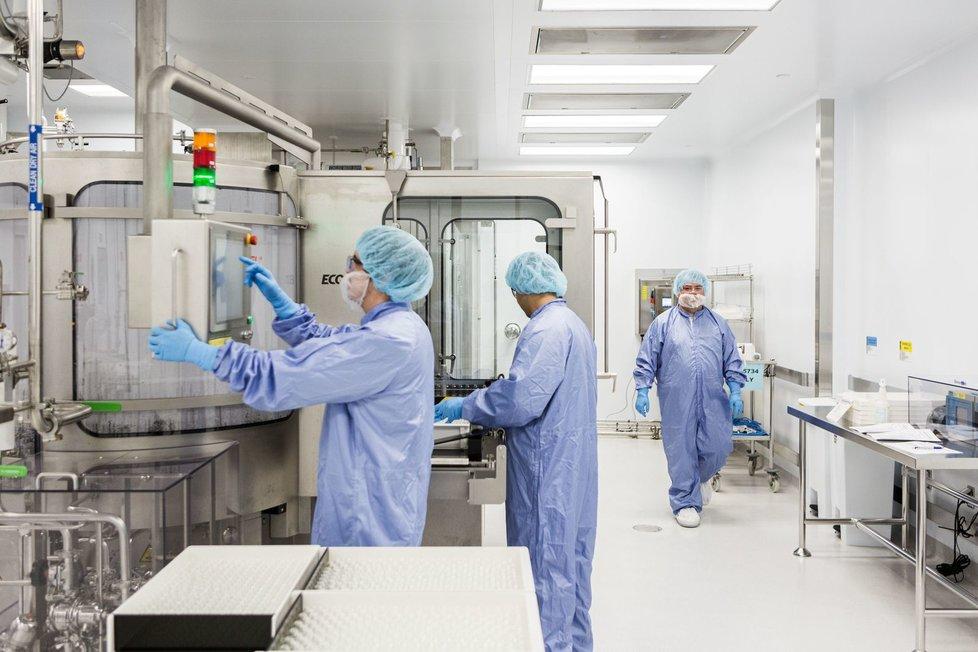 Výzkum koronaviru: Laboratoř vyrábějící remdesivir v Kalifornii