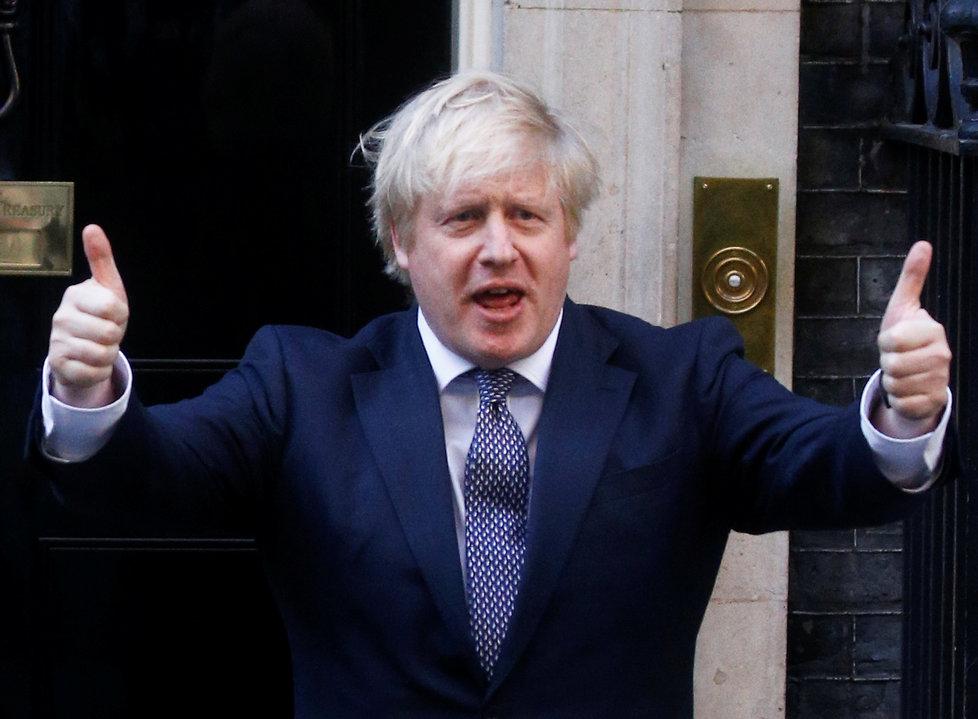 Premiér Boris Johnson.