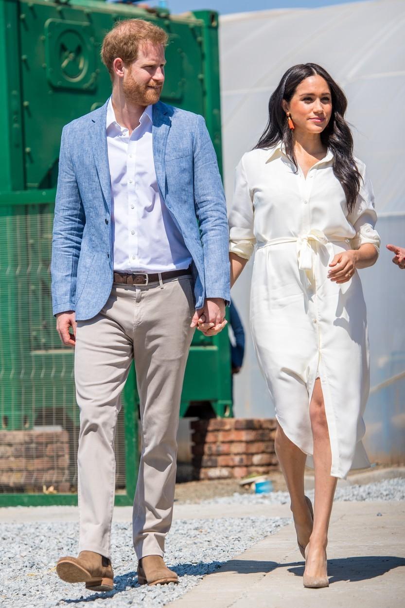 Meghan s princem Harrym.