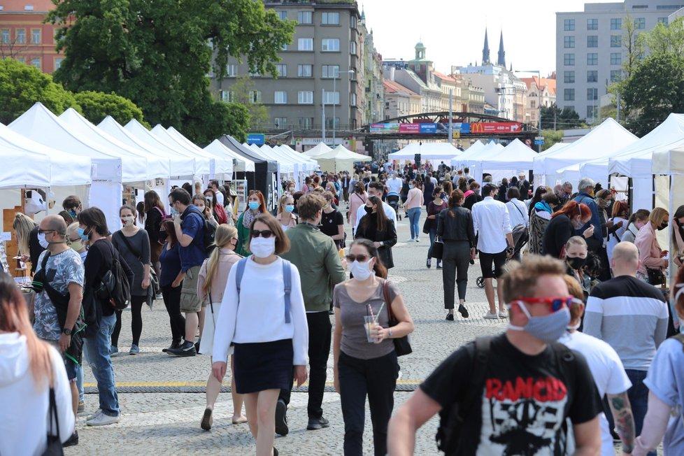 V sobotu 16. května vyrazili Pražané na Dyzajn market na holešovické Výstaviště.