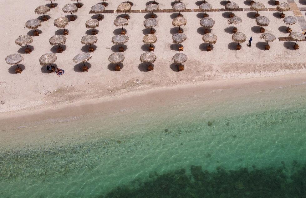 Řecké pláže