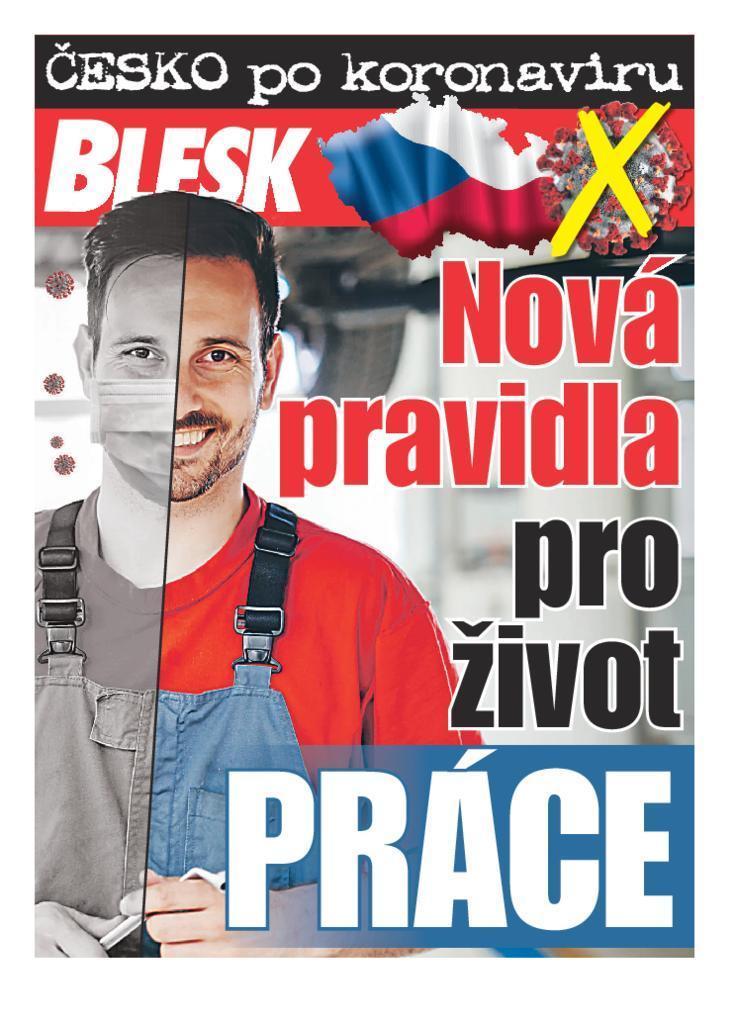 Přiručka Blesku: Česko po koronaviru. Díl 1: Práce