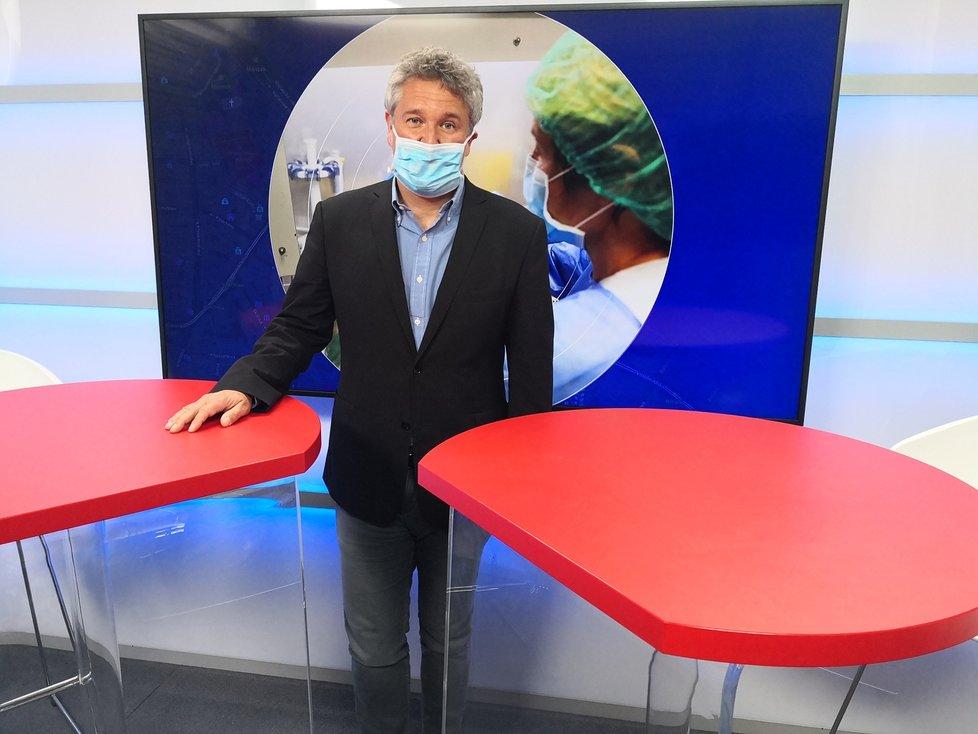 Epidemiolog z Institutu klinické a experimentální medicíny Petr Smejkal v Epicentru 20.5.2020
