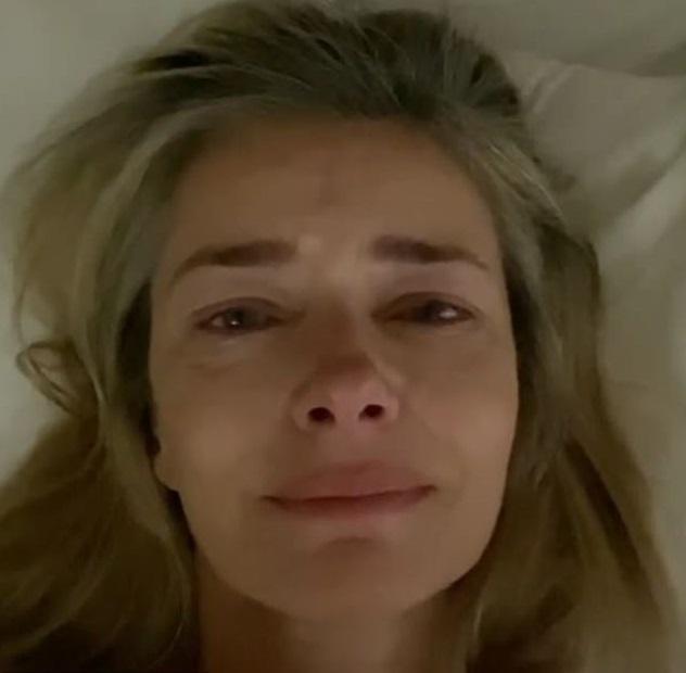 Pavlína Pořízková plakala kvůli mrtvému manželovi.