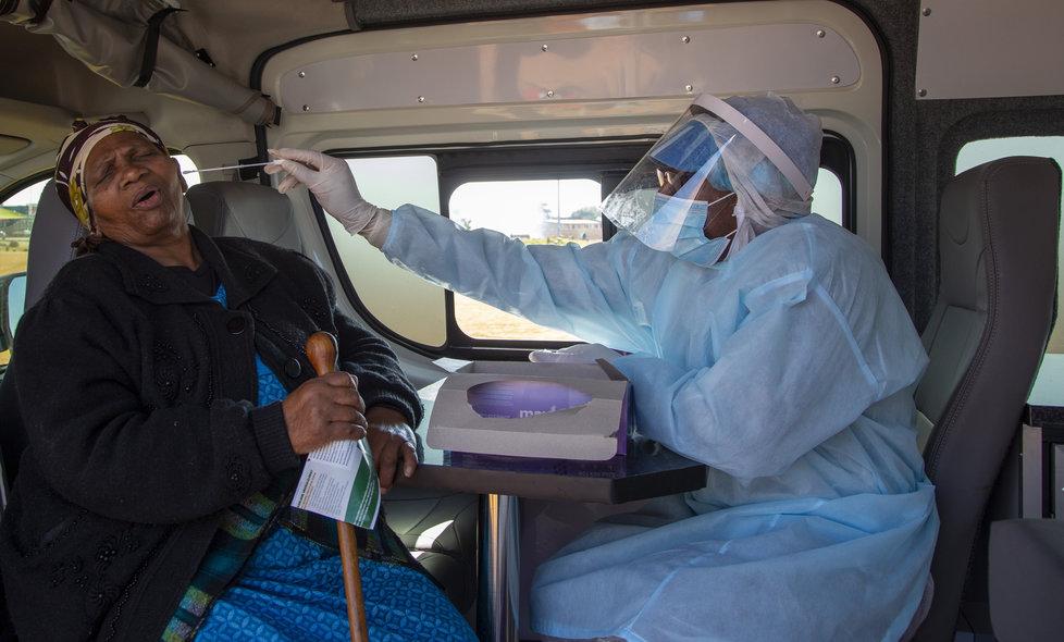 Boj s pandemií koronaviru v JAR
