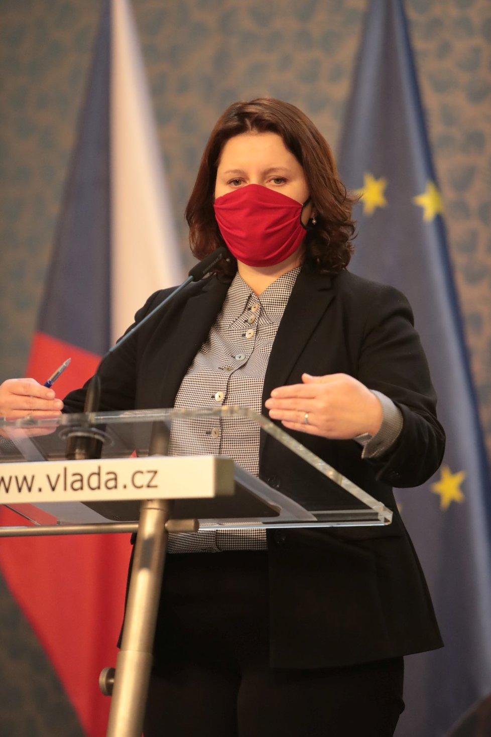 Jednání vlády o koronaviru 25. května 2020: Jana Maláčová (ČSSD)