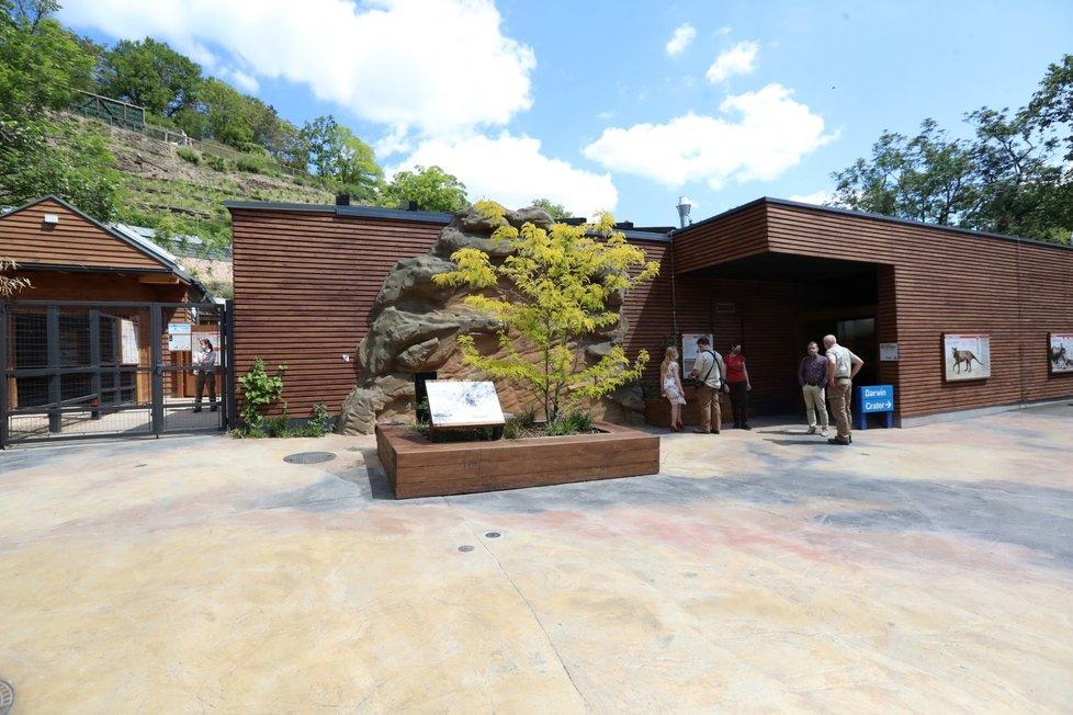 V Zoo Praha vznikla nová expozice tasmánské a australské fauny nazvaná Darwinův kráter