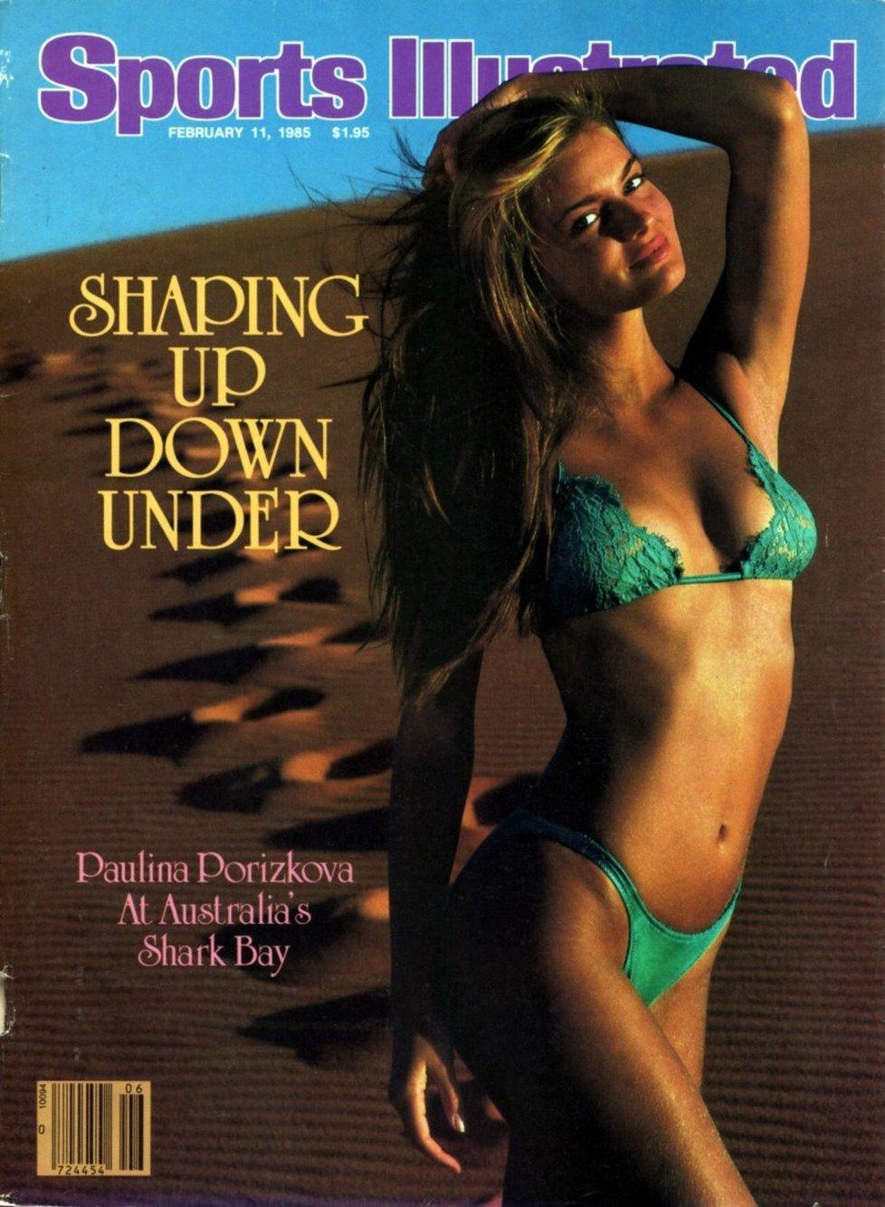 1983 - Pavlína Pořízková na titulce plavkového speciálu Sports Illustrated