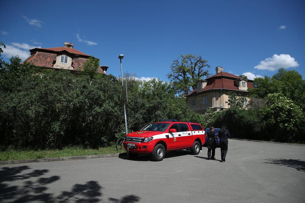 Pátrání po zmizelém Tadeáškovi na Mělnicku v sobotu 30. května 2020.
