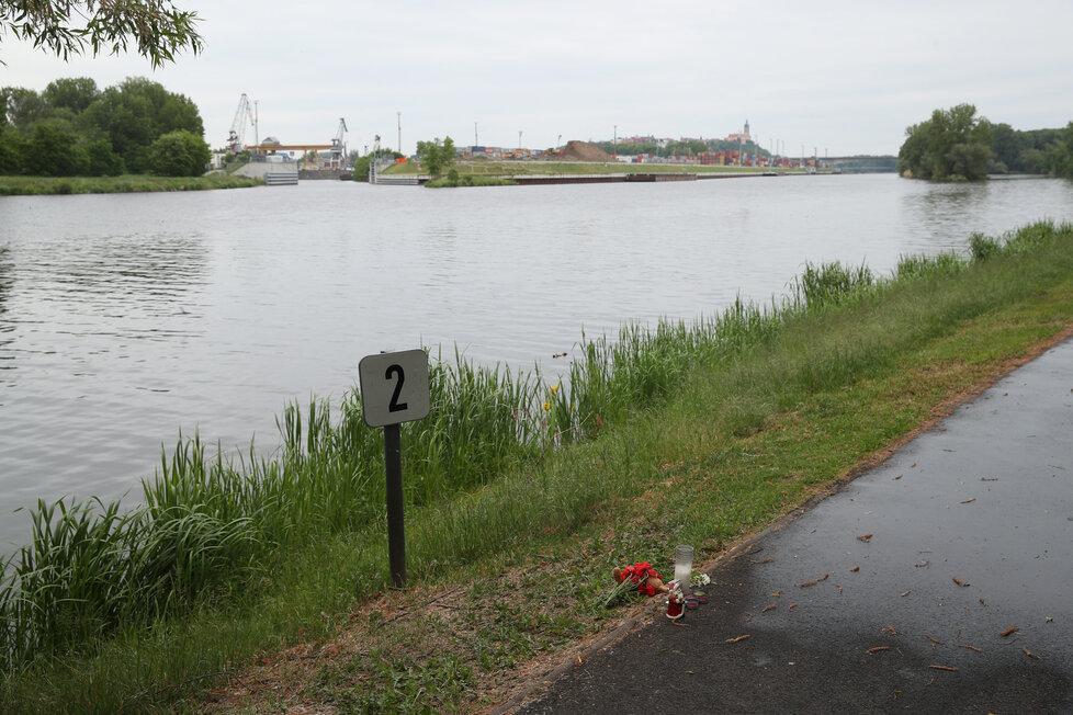 Pietní místo za zemřelého Tadeáška (†4 měs.).