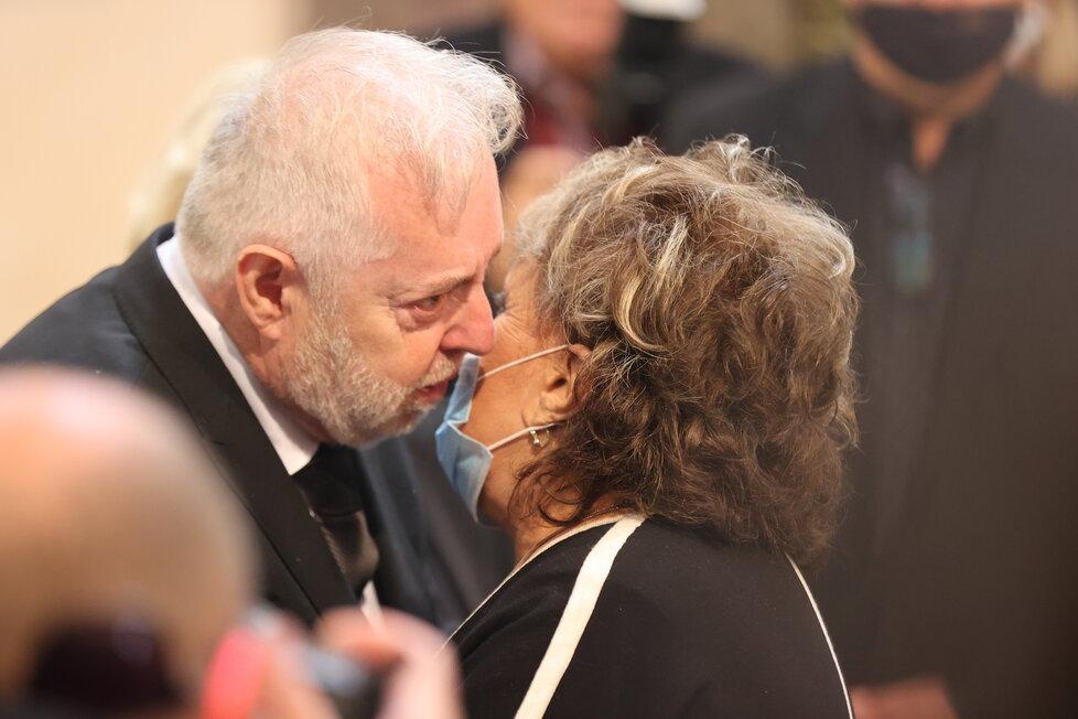 Slavní a jejich kondolence zničenému vdovci - Jiřina Bohdalová