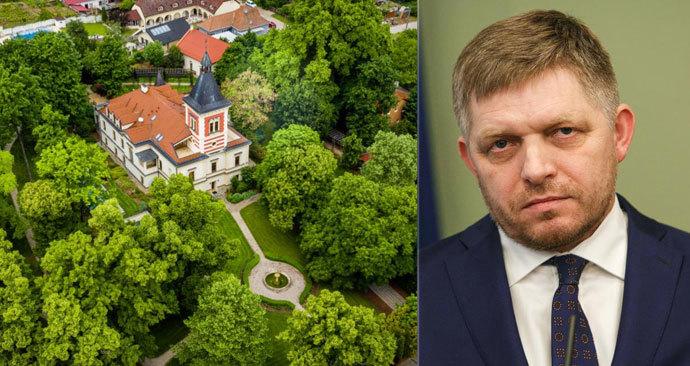 Kde po odchodu z luxusního bytu v bratislavském komplexu Bonaparte bydlí slovenský expremiér Robert Fico? V luxusu s kostelem poblíž Bratislavy