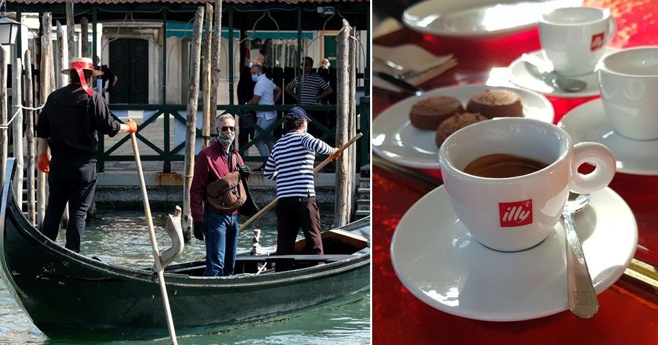 V benátské kavárně na vás mohou číhat i několikanásobně vyšší ceny, pokud jste turista (5. 6. 2020)
