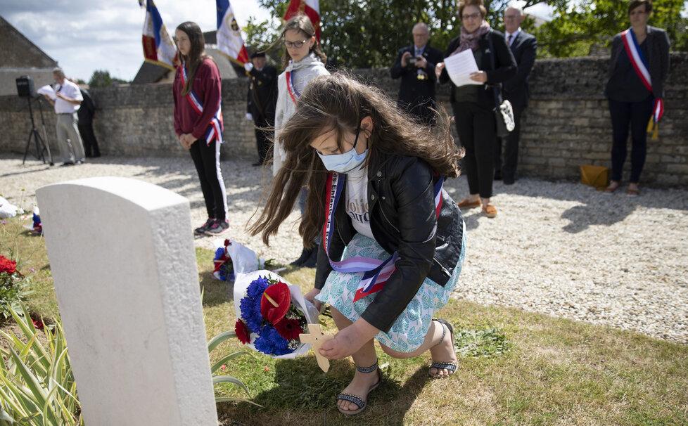 Oslavy vylodění v Normandii se letos nesly v komorních duchu (6.6.2020)