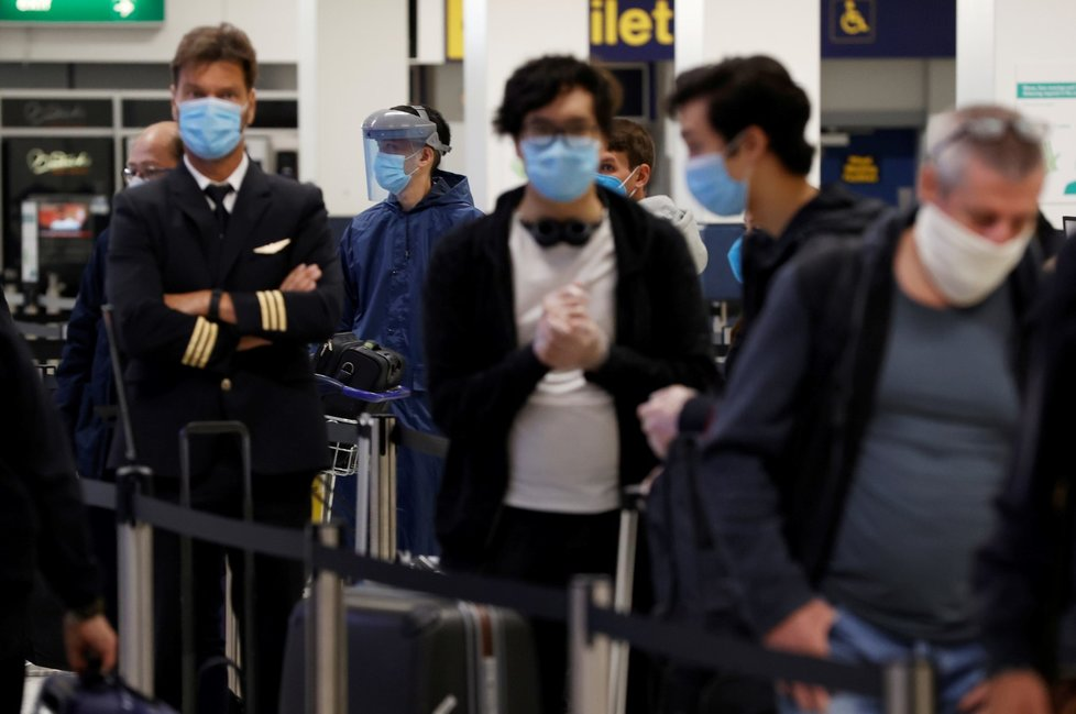 Koronavirus ve Velké Británii