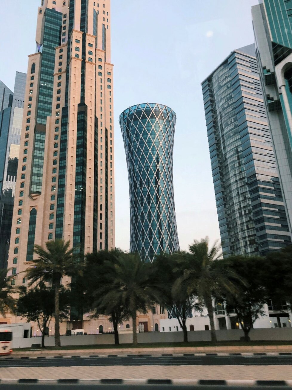 Hlavní město Kataru Dauhá (8. 6. 2020)