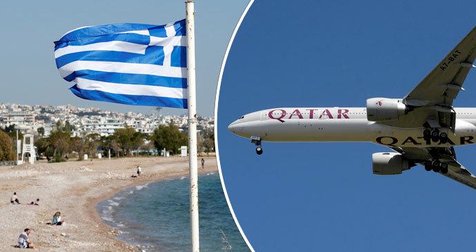 12 cestujících bylo po příletu do Řecka pozitivně testováno na koronavirus (8. 6. 2020)