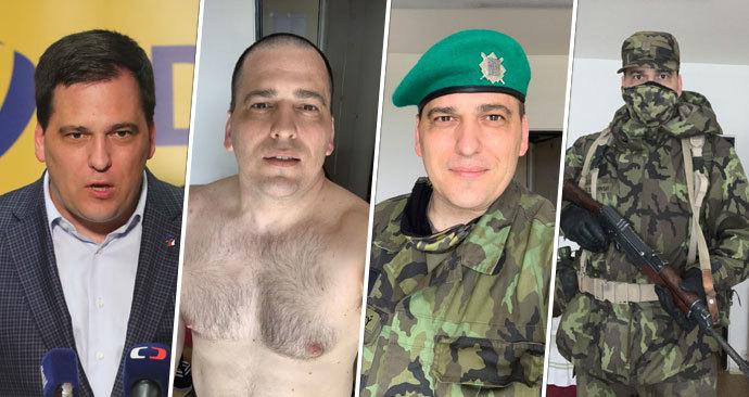 Eurposlanec Tomáš Zdechovský zhubnul 14 kilo navlékl maskáče a absolvoval vojenský výcvik Aktivních záloh
