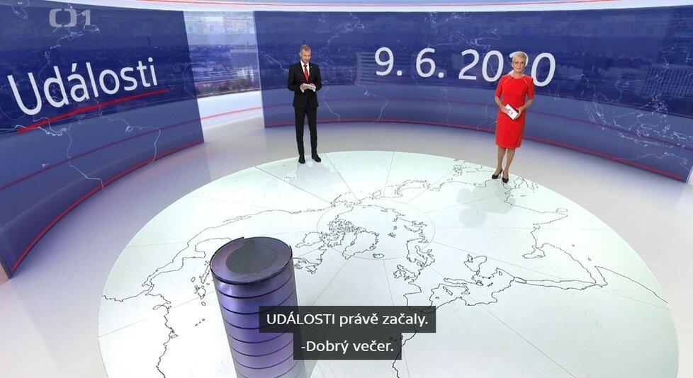 Titulky pro neslyšící si lze přidal k pořadům České televize i na internetu.