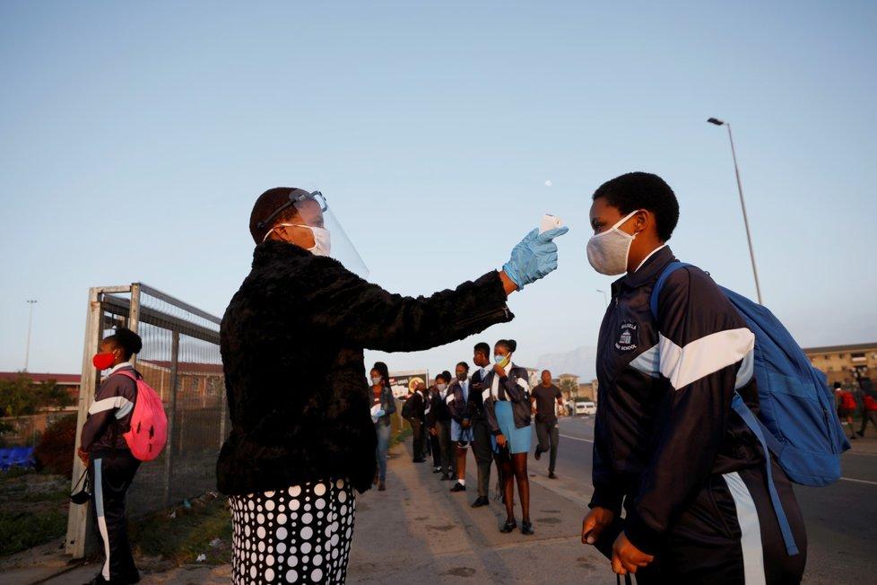 Koronavirus a boj s ním v Jihoafrické republice (8. 6. 2020)