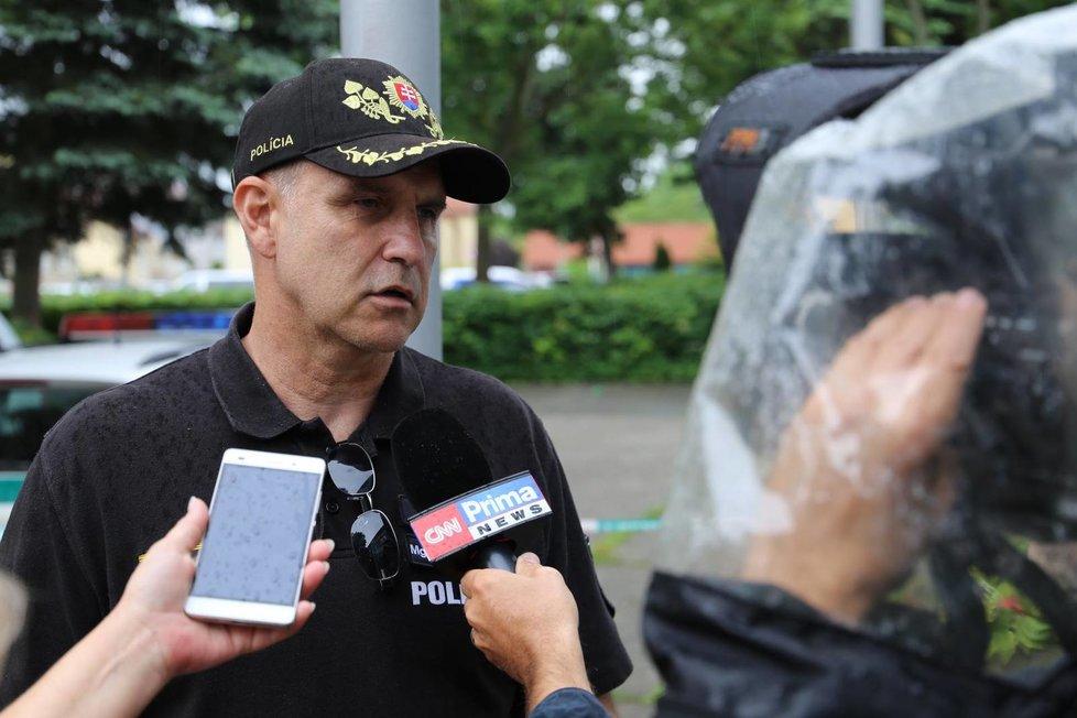 Slovenský policejní prezident Milan Lučanský