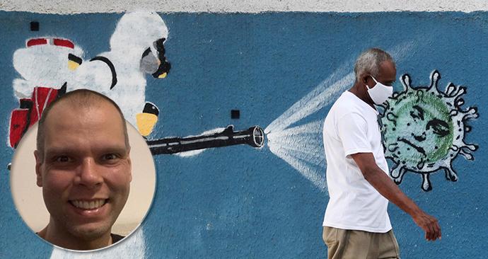 Brazílie bojuje s koronavirem a starosta São Paula Bruno Covas je také pozitivní.