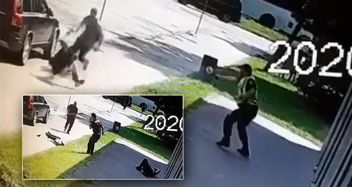 Video ukazuje, jak policie zastřelila útočníka z Vrútek.