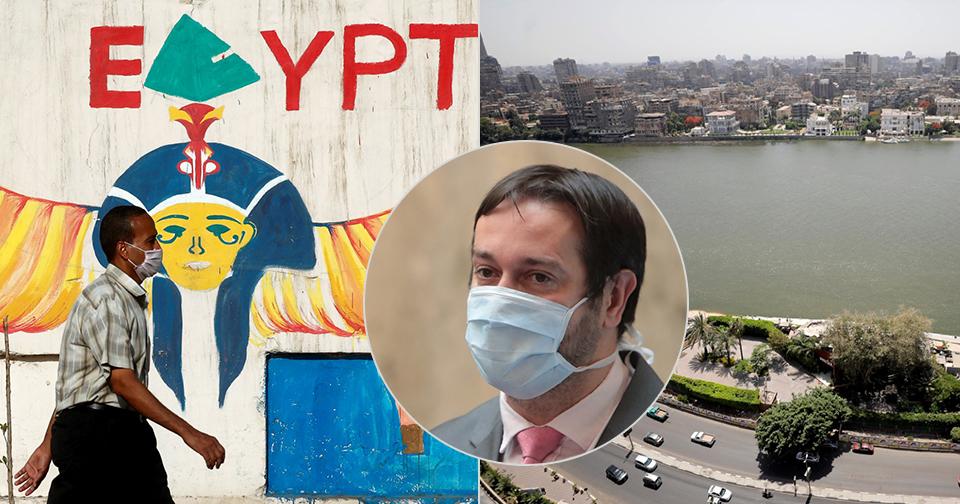 Egypt se otvírá turistům. Nejezdil bych tam, varuje Rastislav Maďar.