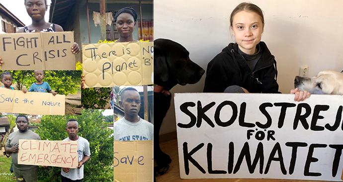 Osmiletí australští školáci studují projevy aktivistky Thunbergové. Učitelé po nich chtějí, aby její poselství šířili dál.