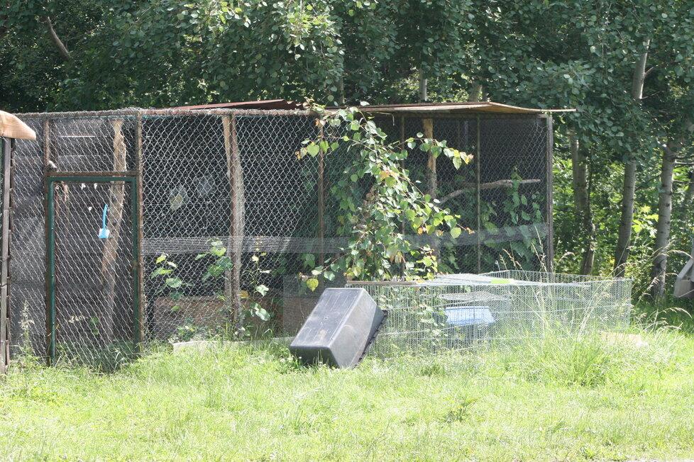 Záchranná stanice pro volně žijící živočichy v Jinonicích.