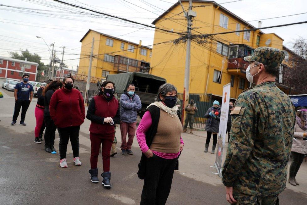 Koronavirus v Chile, třetí nejhůře zasaženou zemí v Jižní Americe