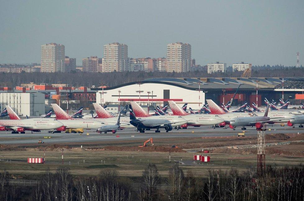 Letadla společnosti Aeroflot