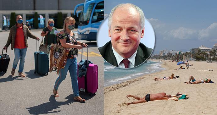 Epidemiolog Roman Prymula Blesk Zprávám řekl, kam je bezpečné cestovat. (19. 6. 2020)