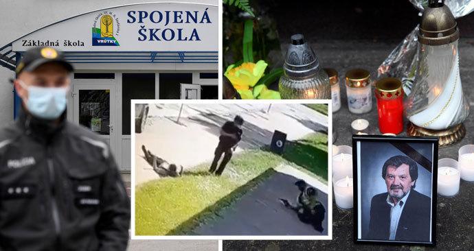 Učitele Jaroslava zabil útočník z Vrútek: Přišly se s ním rozloučit stovky lidí.