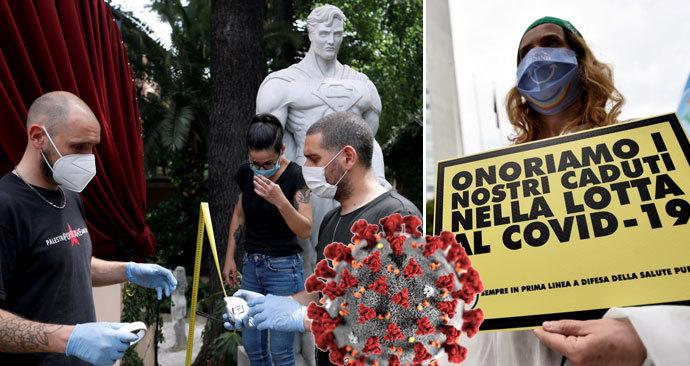 Koronavirus byl v Itálii už v prosinci? Vědci našli jeho stopy v kanalizaci