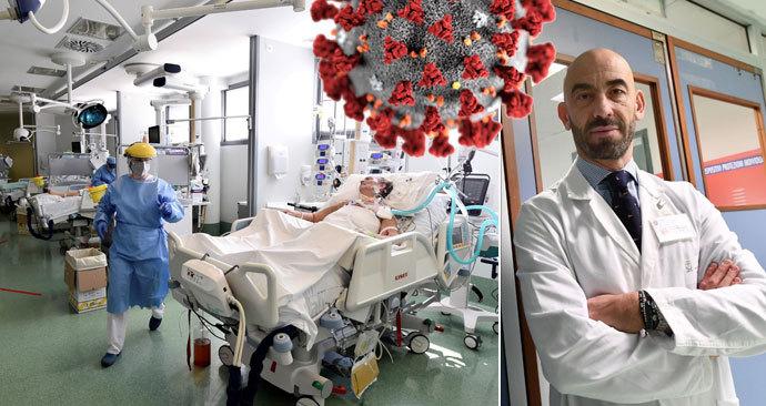 Koronavirus slábne, nákaza možná sama od sebe mizí, tvrdí italský lékař Matteo Bassetti.