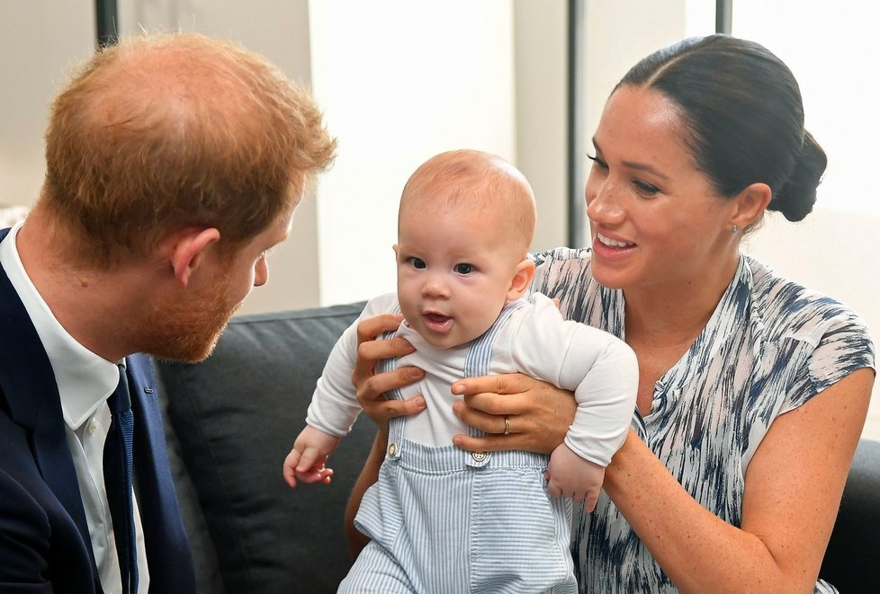 Princ Harry s rodinou