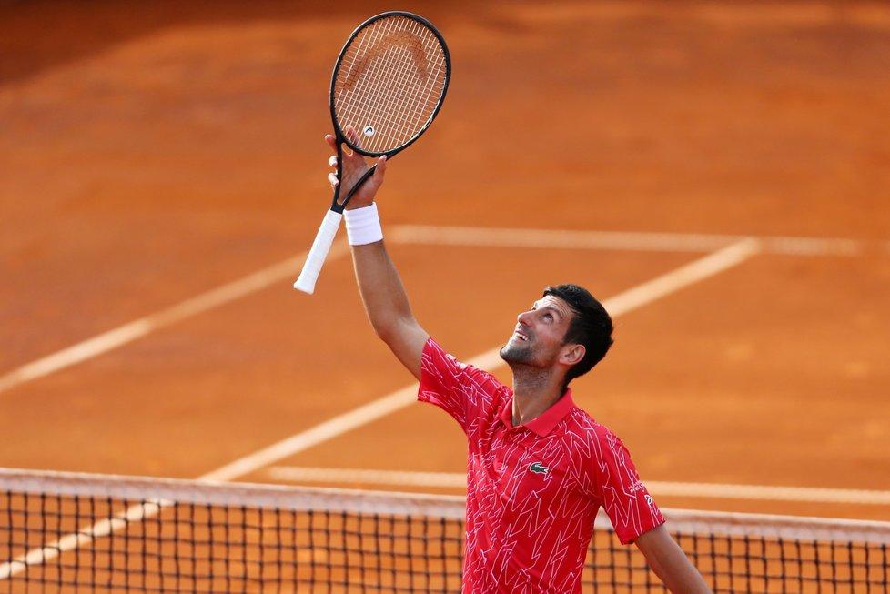 Světová tenisová jednička Novak Djokovič