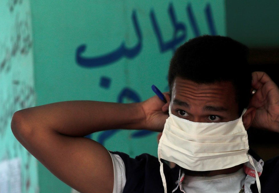 Koronavirus v Egyptě.