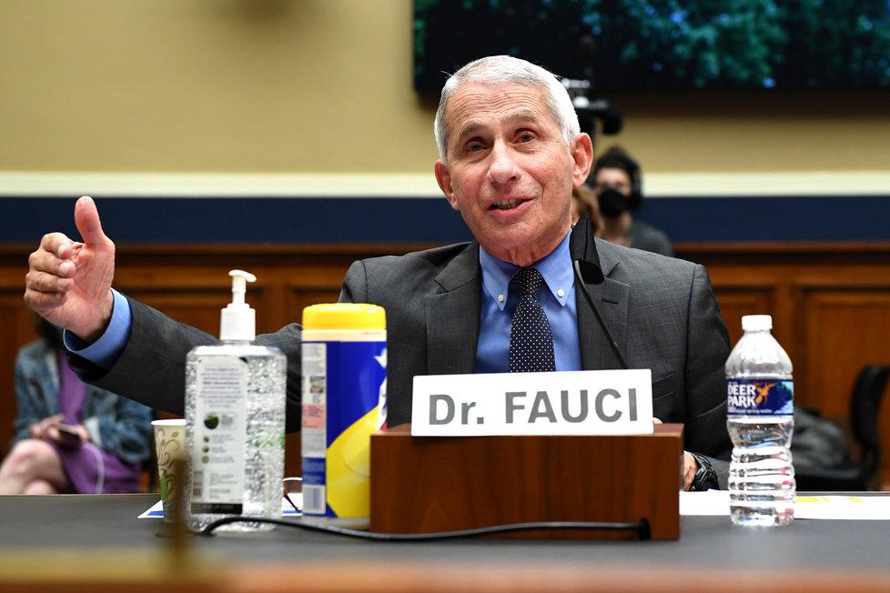 Americký epidemiolog Anthony Fauci.