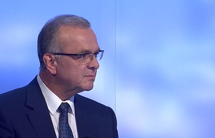 Šéf poslanců TOP 09 Miroslav Kalousek v České televizi (29. 6. 2020)