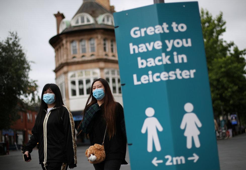Britské potíže s koronavirem: Anglické město Leicester coby jedno z ohnisek (29. a 30.6.2020)