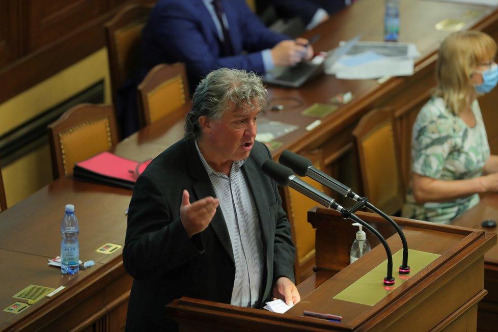 Jednání Sněmovny: Jiří Dolejš (KSČM; 23. 6. 2020)