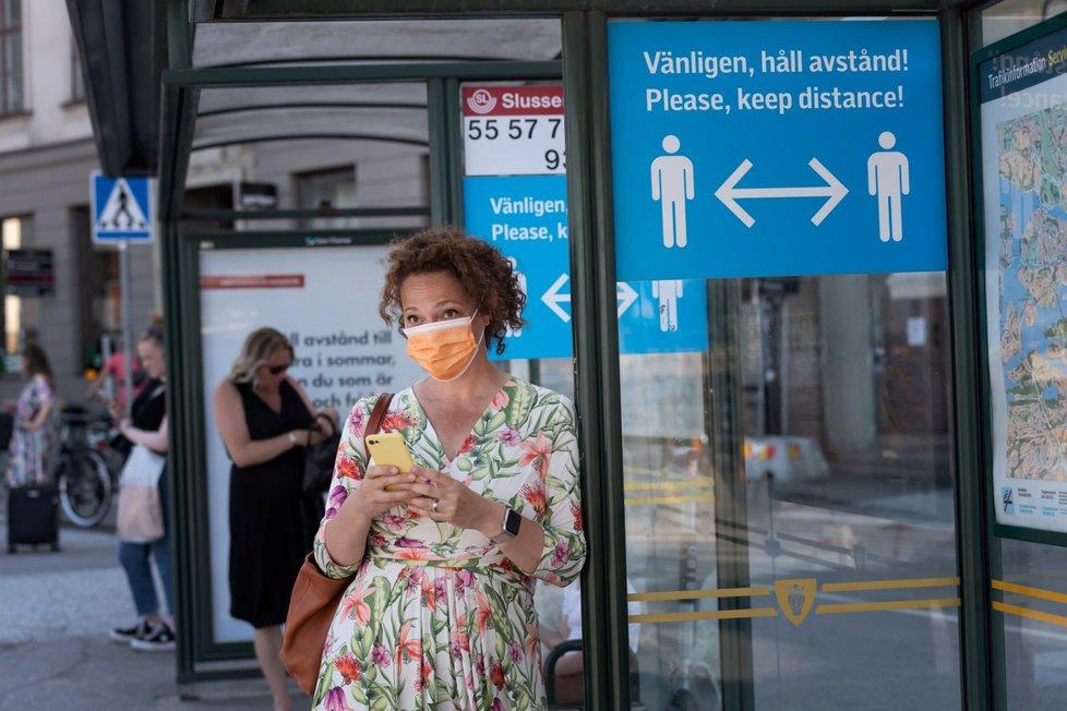 Koronavirus ve Švédsku.