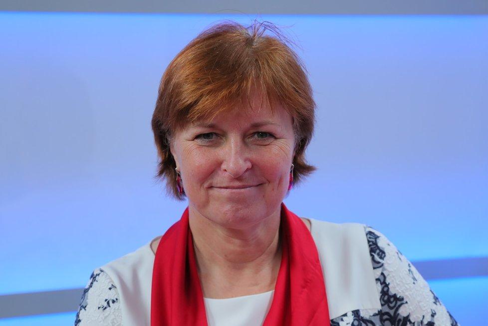 Jarmila Rážová, hlavní hygienička ČR, v pořadu Epicentrum (7. 7. 2020)